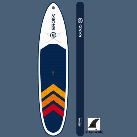 Pack paddle gonflable Ocean Walker 10'4 Sroka