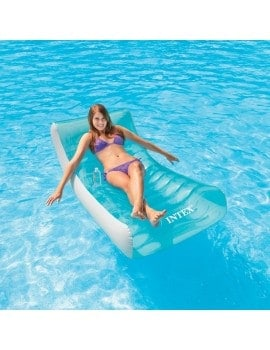 Lounge piscine ghost intex