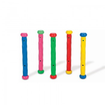 Jeu batons - lot de 5 intex