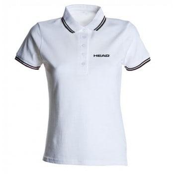 Polo shirt femme head
