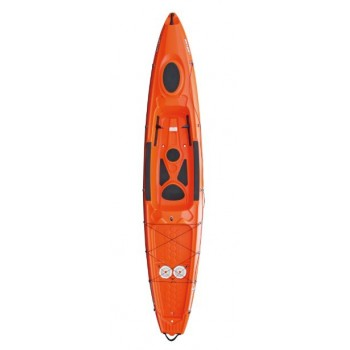 Kayak rigide java orange bic