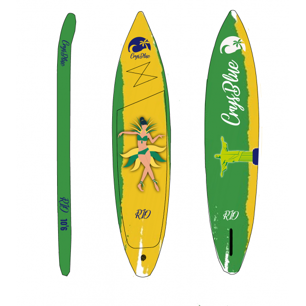 Pack paddle Rio 11'6 - Crysblue