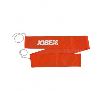 Ski flag flame orange jobe