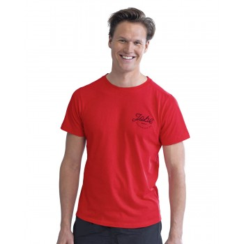T-shirt casual rouge homme...