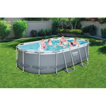 Piscine oval tubulaire...