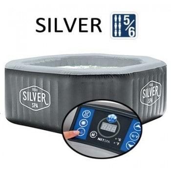 Spa gonflable SILVER 6...