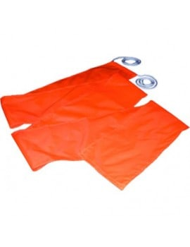 Flamme orange bateau tracte...