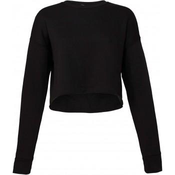Sweat-shirt crop femme