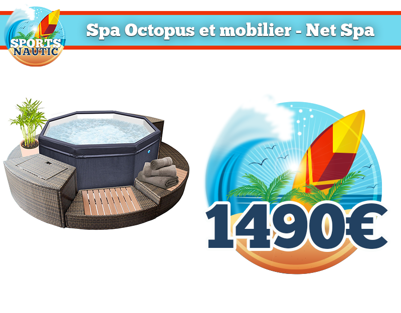Spa Octopus + mobilier